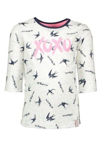 ♥ B.NOSY Teens ♥ Mädchen T-Shirt b.tropical rainbow Gr.98-164 ♥ Y-902-5453-967