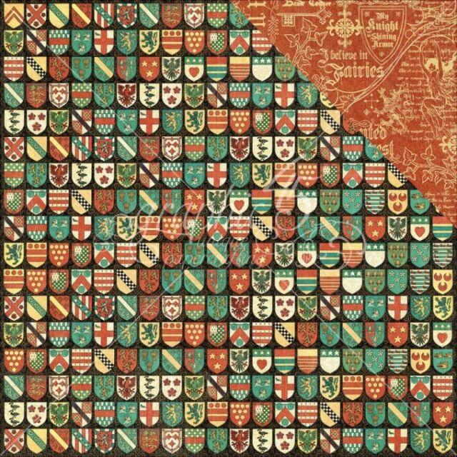 Graphic 45 2 Hojas Manualidades Papel - Bosque Encantado - Exquisito Epoch