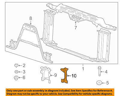 New Radiator Support Bracket Driver Left Side LH Hand BM1225164 51647421989