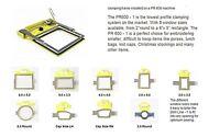 Hooptech Hoops/windows For Brother Babylock Clamp Hoop System Pr600-1+more Hoops