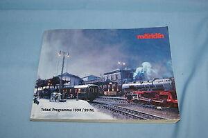 Marklin-Katalog-Catalog-1998-1999-NL