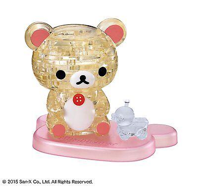Beverly 3d Kristall Puzzle Korilakkuma 37 Teile 50193 RegelmäßIges TeegeträNk Verbessert Ihre Gesundheit