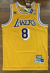 Men's Kobe Bryant LA Lakers Hardwood Classics #8 Swingman Jersey ...