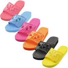 Open toe platform chinese slippers