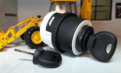 Zündschalter /& Schlüssel OEM Jcb 2cx 3cx 4cx Powercad Fastrac