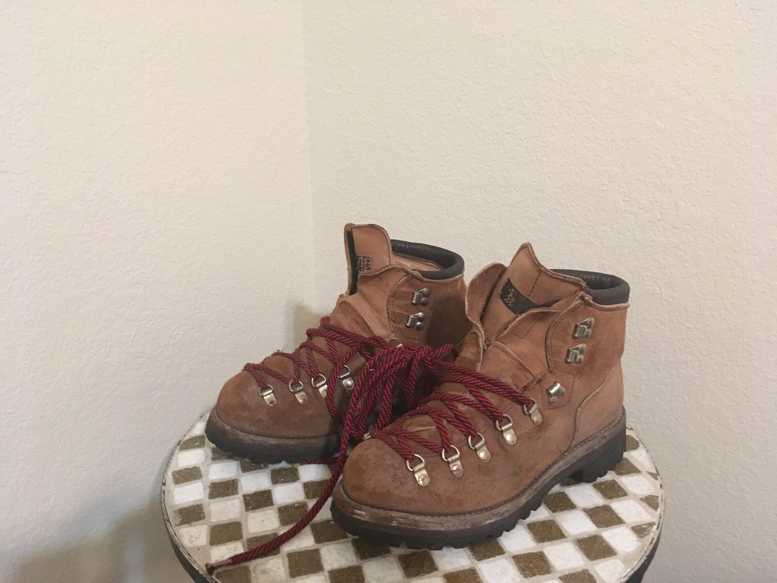 USA VINTAGE DEXTER MOUNTAIN HIKE TRAIL BOOTS 8 M