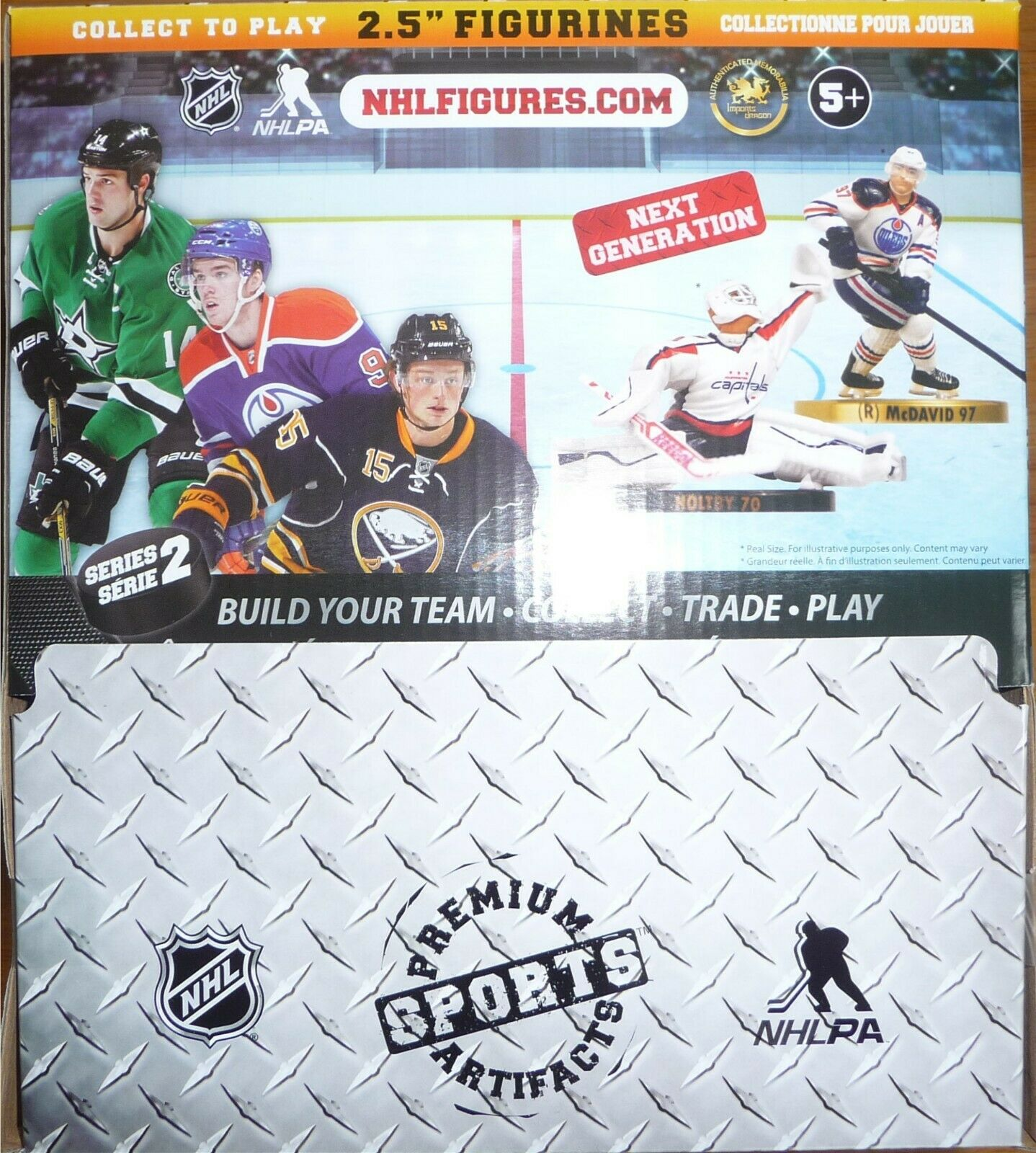 """NHL 2.5/"""" Imports Dragon Series 4 Factory Sealed Case of 20 Blind Bags 2018-19"""