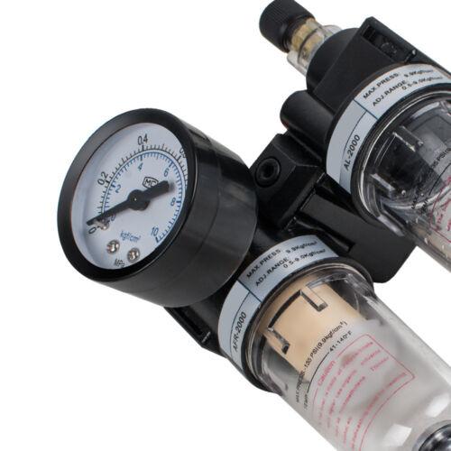 Regulador de presión de aire de filtro de metal de EE Separadores Agua Trampa Filtro de aceite AFC2000 UU