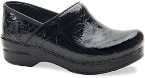 Dansko Professional Clog Black Tooled Women's sizes 6-12/36-42 NEW!!!