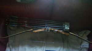 """Samick Sage Traditional Takedown 62/"""" Recurve Bow Full Accessories Package"""