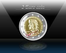 MONACO 2 EURO  2012 ( Lucien Grimaldi ) Commemorative coin * UNC - RARE