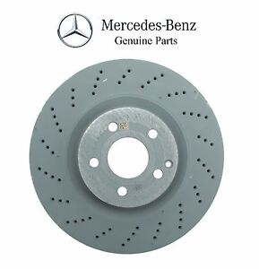 Mercedes w212 front left right vented cross drilled for Mercedes benz c300 brake rotors