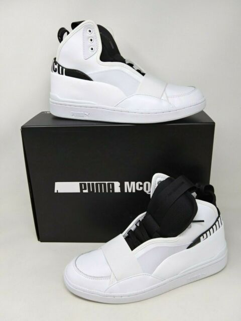 Men/'s Puma McQ Tech Runner MID 361487 02 New In Box Black T8