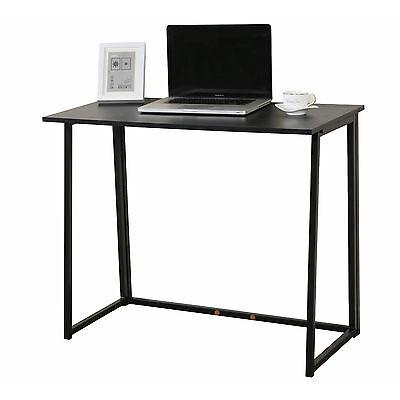 CherryTree Furniture Compact Flip-Flop Folding Computer Office Desk Laptop Table