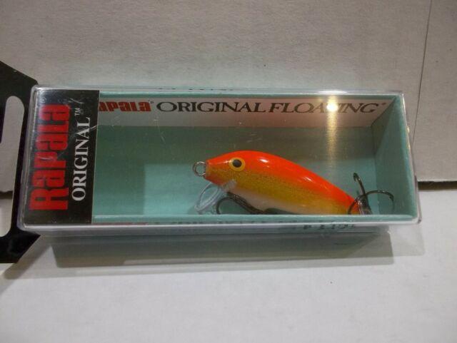 NIB. Rapala Original Floating F-7 GALB Golden Alburnus Color Minnow Lure