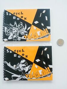 Yu-Gi-Oh-Sketch-Books-Yami-Yugi-Seto-Kaiba-Atem-Atemu-notes-for-drawing-yugioh
