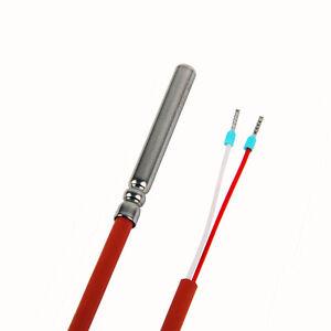 PT1000-PT-1000-Temperaturfuehler-Temperatursensor-Widerstandsthermometer-250-C