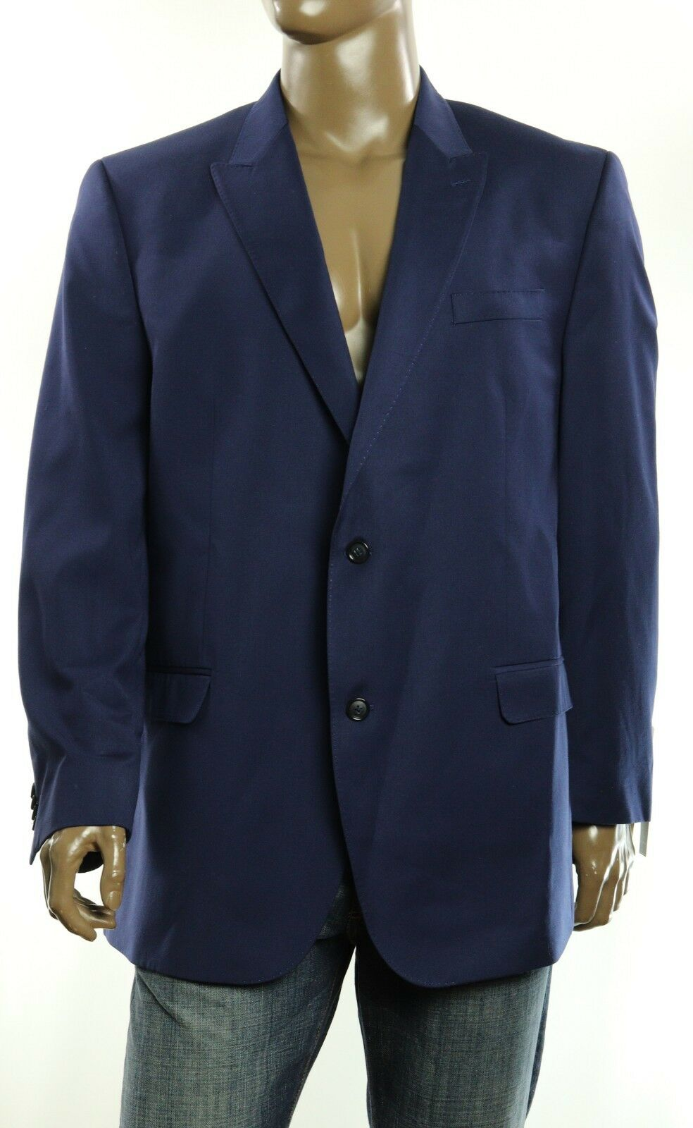 275 New Big & Tall  Herren Sean John Two Buttons Sportcoat Suit Blazer 48 Long