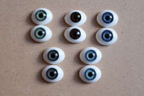SOLID GLASS EYES 18mm FOR REBORN DOLL KITS /& OOAK BABIES *PHIL DONNELLY BABIES*