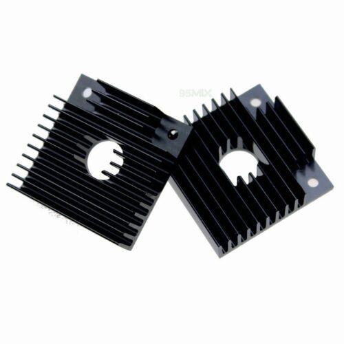 2x 40mm x 40mm x 11mm Makerbot Accessories 3D Printer Extruder Heat Sink MK7 MK8