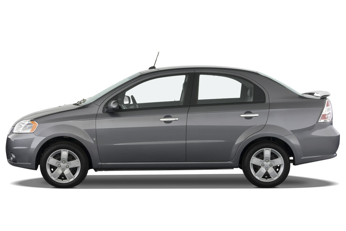 Chevrolet Aveo side view