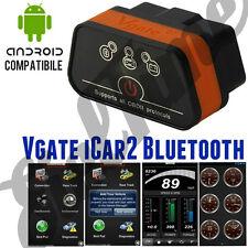 OBD2 OBDII Vgate iCar2 ELM BLUETOOTH SCANNER PER ANDROID TORQUE SAMSUNG S6 S5 S7