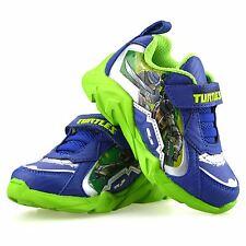 49b98ca6f209 Boys Kids Teenage Mutant Ninja Turtles Casual Summer Sports Trainers Shoes  Size