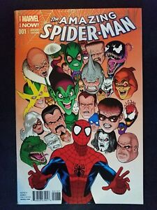 Details about Marvel Amazing Spider-Man, Vol  3 # 1 (1st Print) Maguire  Laughing Ogre Color