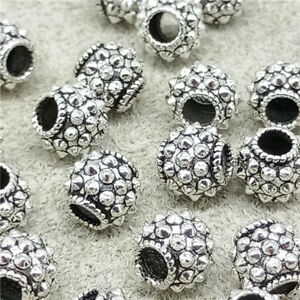 6pcs-of-925-Sterling-Silver-Spike-Beads-Bracelet-Spacer-Beads