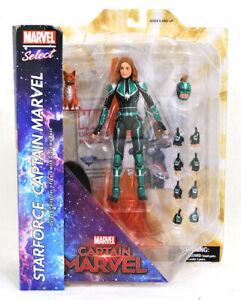 Action Figure Captain Marvel Starforce Uniform Version Marvel Select