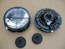 Scheinwerfer schwarz mit Fadenkreuz für VW Golf 1 I NEU 1 Satz 2x nicht klarglas