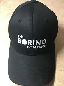 The Boring Company Hat - Elon Musk - Tesla - SpaceX - Cap - Limited ... c8d2ee96c62