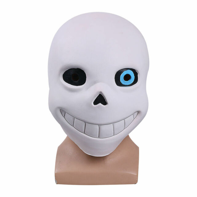 Halloween Hot Game Undertale Mask Hard Latex Cosplay Sans Helmet Full Head Masks For Sale Online Ebay