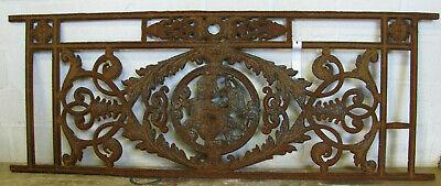 Brüstungsgitter Motiv Fenstergitter Balkongitter Ziergitter Gründerzeit
