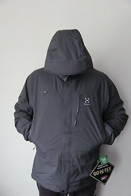 2 GORE Haglofs 350 size XL Jacka Jacket Men layer TEX® Astral Beluga EureBay QrtCshdx