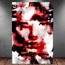 Frau Gesicht Abstrakt Leinwandbild Kunstdruck AK ART Keilrahmen