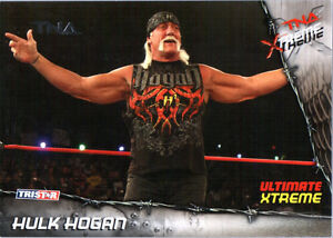 Details about TNA Hulk Hogan #100 2010 Xtreme SILVER Parallel Card SN 37 of 40