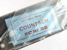 Nisi Countach Rim Set 700C Tubular 32 Hole Eyelets 2 Rims Vintage Bicycle NOS