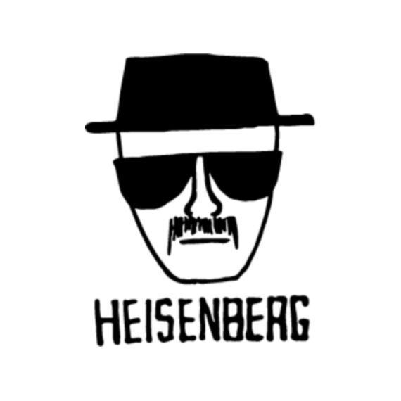 Heisenberg - Breaking Bad Vinyl Decal - Multiple Colors
