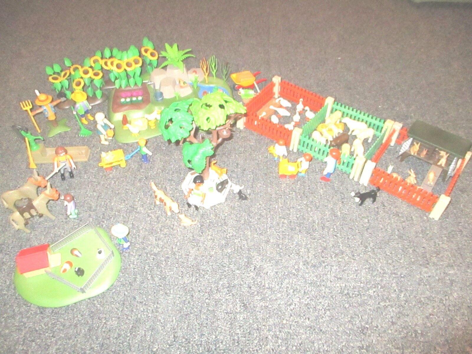 Playmobil - Großer Streichelzoo mit viel Zubehör