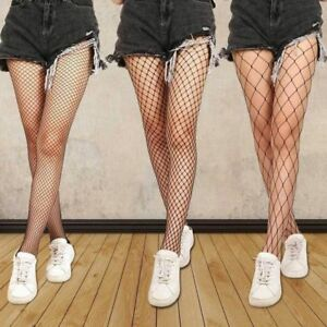 Women-Fishnet-Mesh-Thigh-High-Stockings-Tights-Lingerie-Pantyhose-Long-Socks-New