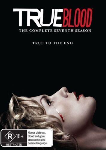 1 of 1 - TRUE BLOOD Season 7 NEW & NOT Sealed DVD Rating R18+ Region 4 Free Ship Horror
