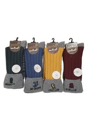 Harry Potter Cosy Socks With Grippers Women/'s Ladies Winter Sock UK 4-8 Primark