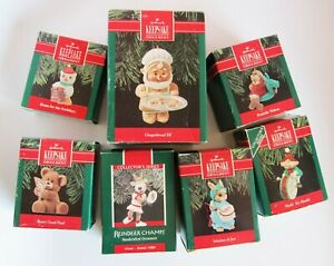 Lot-7-Hallmark-Keepsake-Christmas-Ornaments-1988-89-1990-1994-2000-2002-s-5