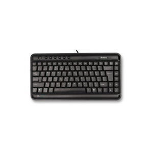 PQ1063-A4Tech-KL-5-Space-Saver-Compact-Keyboard-Black-UK-Layout