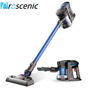 proscenic p8 cordless handheld vacuum cleaner bagless 2 speeds suction power ebay. Black Bedroom Furniture Sets. Home Design Ideas
