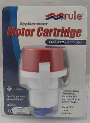 1100GPH Rule Replacement Motor Cartridges for Tournament Series.47DR Marine MD