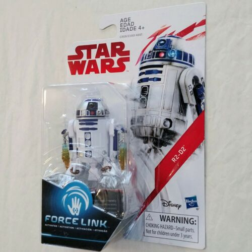 Star Wars Force Link 3.75-Inch Action Figures Luke R2-D2 Yoda Obi Wan C-3PO