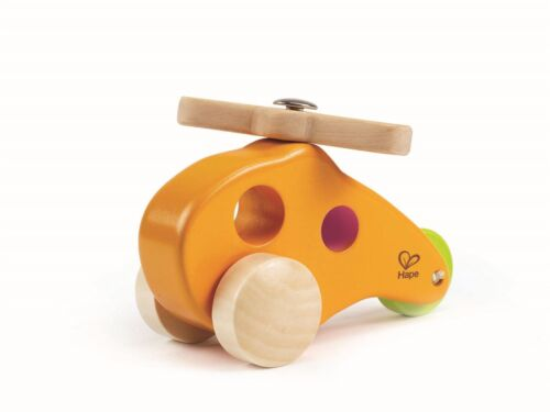 Hape LITTLE COPTER Pre-School Young Children Toddler Wooden Toy Game BN