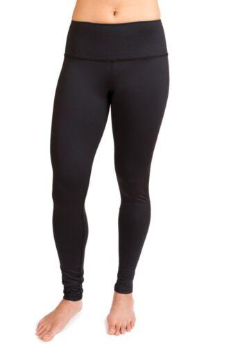 alta a da nero Pantaloni taglia solido legging M interno vita yoga fuoco 8 nero traspirante HPH1qWSz
